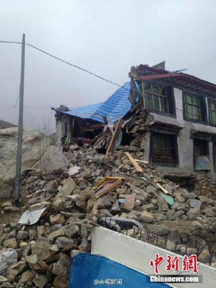 Damage in Tibet