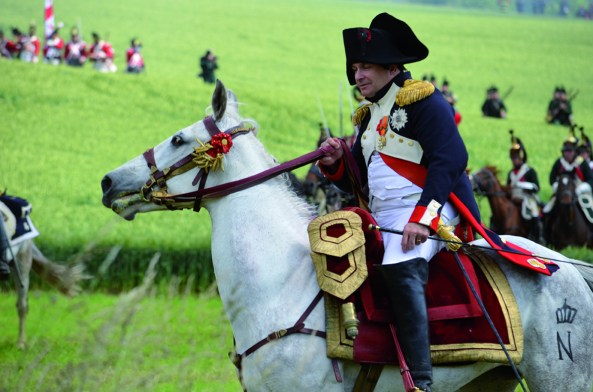 Battle of Waterloo Reenactment. Photo: Chantal Crävecoeur