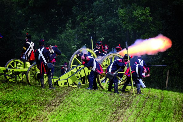 Battle of Waterloo Reenactment. Photo:  J- Franáois Schmitz