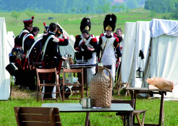 Battle of Waterloo Reenactment - Photo:  Vincent Pittard