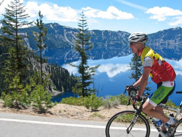 Crater Lake Cyclist_Whit Bazemore