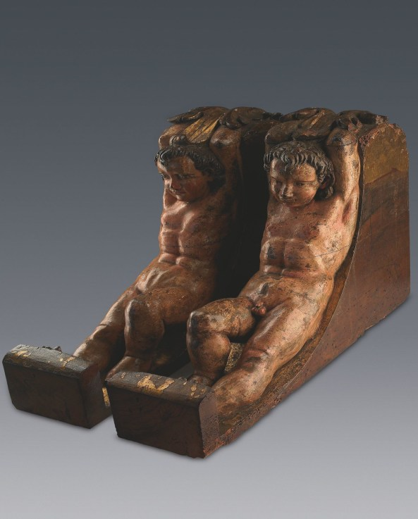 Hitherto unknown pair of sculptures by Michelangelo Buonarroti presented to the world.