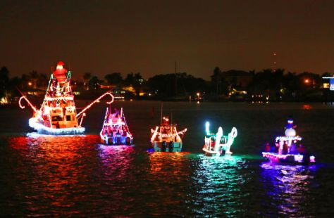 Boat parades-Palm beach