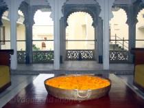 Decoration at the Durbar Hall