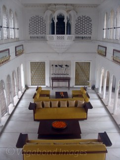 Durbar Hall of the fort, where erstwhile rulers used to meet the people
