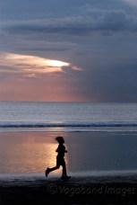 Jogging past the light!