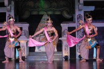 Rama, Sinta & Laksmana in the forest