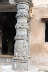 Right pillar outside the main hall