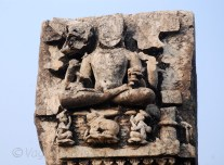 This sculpture can be related to Jainism as it is classical padmasana pose