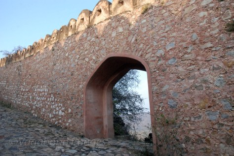 Horses used to enter the fort through this gate