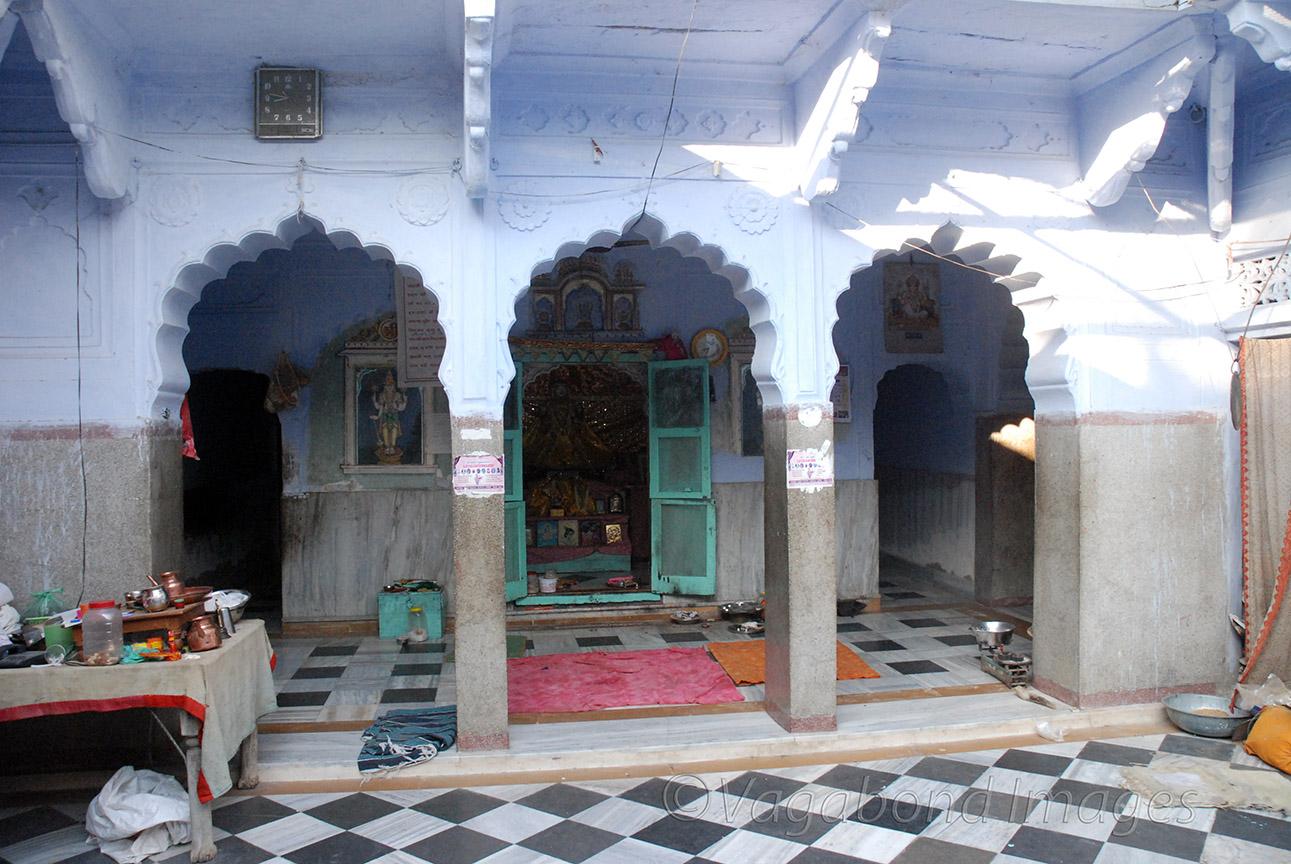 the sanctum sanctorum of the temple