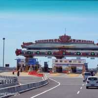 Riding on the sea: Amazing Bali Mandara sea link
