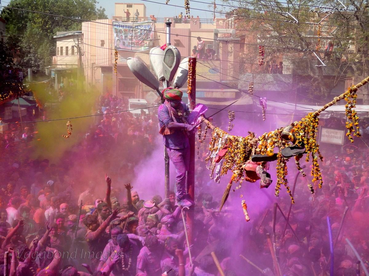 मरु देश में होली के रंग aka Colours of Holi in Desert!