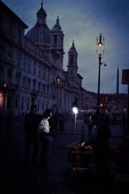 Chestnut vendor on the Piazza Navona