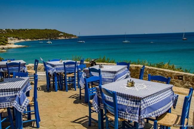restaurant overlooking ocean