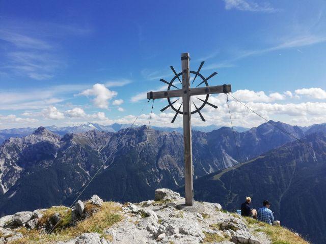 "Gipfel ""Hoher Burgstall"""