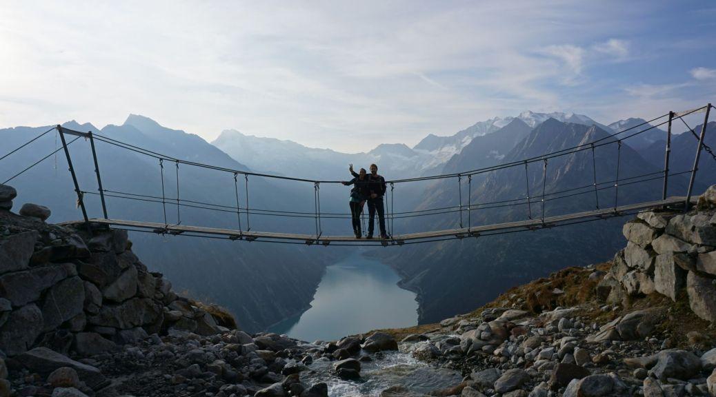 Brücke an der Olperer Hütte