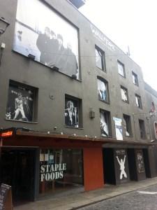 Fachadas musicales en Dublín