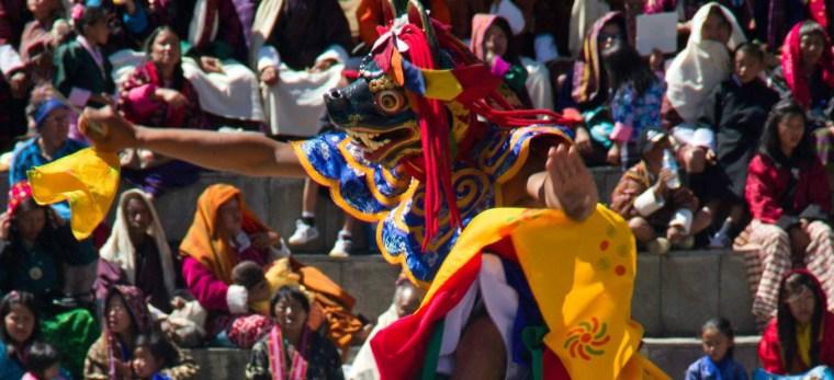 Festival de Timbu (Thimphu Tshechu) en Bután