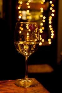 Disfrutando del vino italiano en Navidad en Roma
