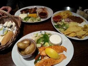 Cenando en Egon, Oslo