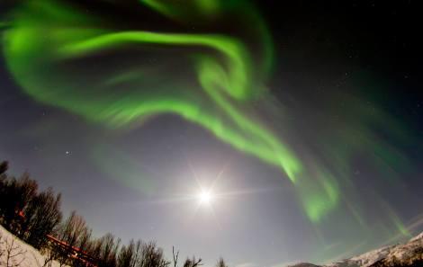 Aurora Boreal en Tromso