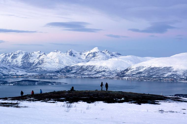 Tromso, vistas desde la montaña Storsteinen