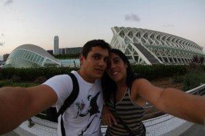 En la Ciudad de las Artes y las Ciencias, Valencia