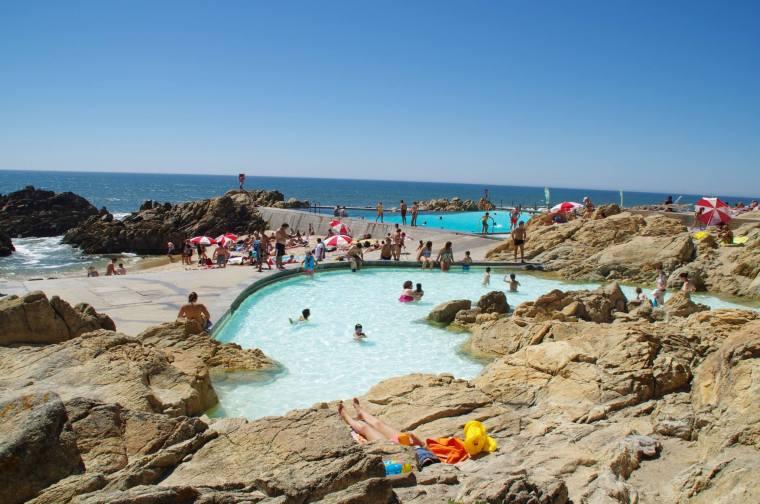 Piscinas das Mares en Matosinhos
