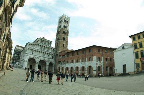 Catedral de San Martín en Lucca