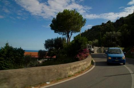 Conduciendo por la Casta Amalfitana