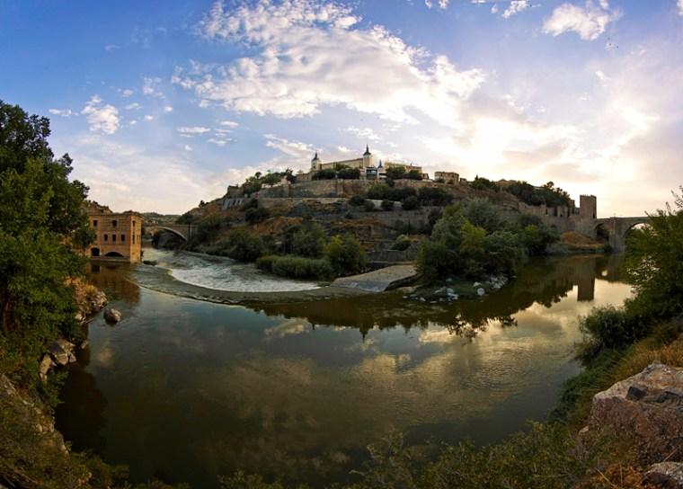 Toledo en hora dorada