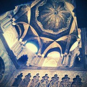Mezquita de Córdoba: bóvedas a base de arcos cruzados