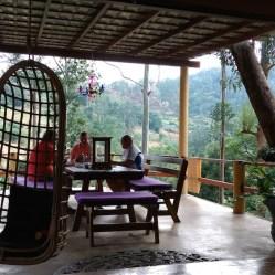 Las zonas comunes eran maravillosas en el hotel Waterfalls Homestay, Ella. Sri Lanka