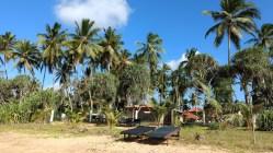 Hotel Lanka Beach Bungallows, en Tangalle, con acceso directo a la playa