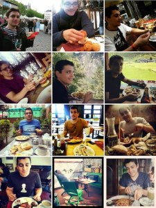 #diegocomiendoporelmundo es el hastagh que reúne nuestras fotos viajeras gastronómicas