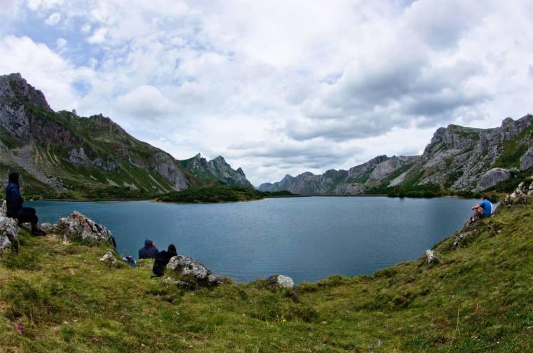 Y por fin la meta: el lago del Valle