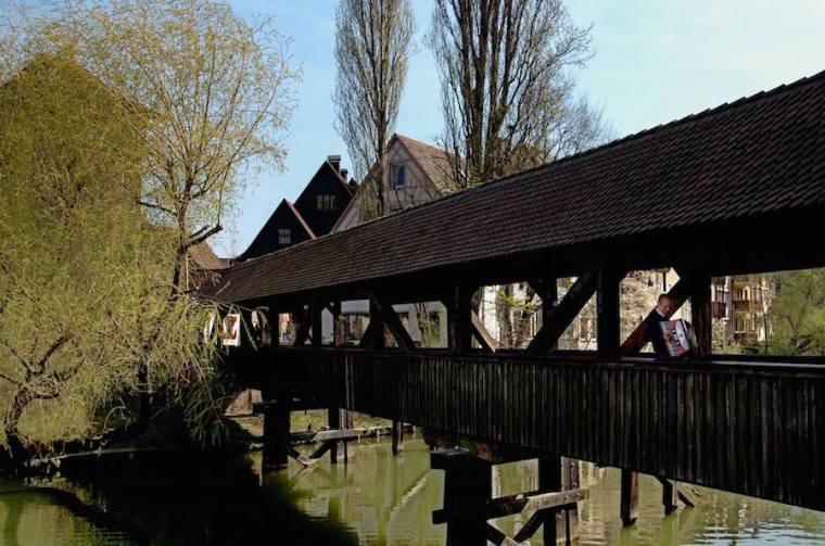 Puente de madera del Verdugo, en Nuremberg