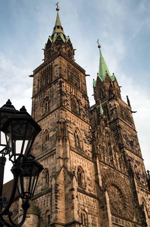 Torres de la Iglesia de San Lorenzo en Nuremberg