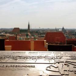 Vistas desde el Castillo Imperial de Nuremberg