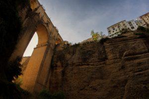 Así ve el río Guadalevín el Puente Nuevo de Ronda