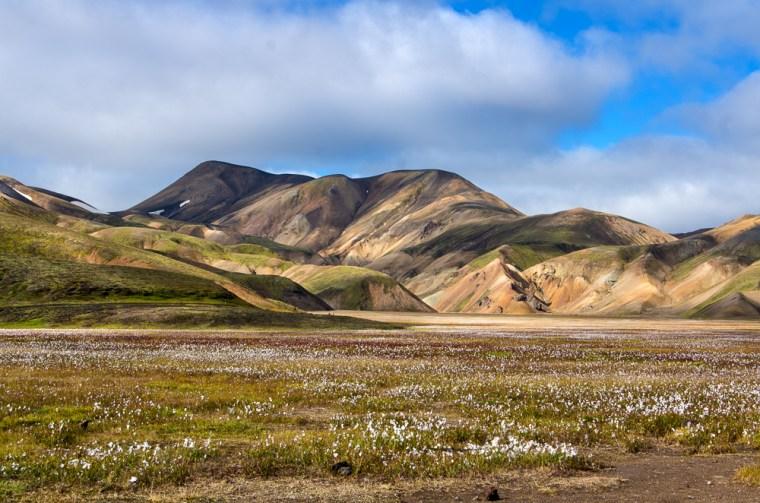 Las montañas de colores de Landmannalaugar, en las Tierras Altas de Islandia