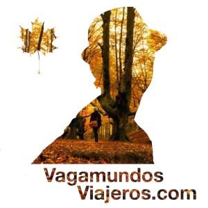 Logo de otoño 2017 para el blog vagamundosviajeros.com