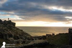 Atardeciendo sobre la costa de Arousa Norte, Galicia