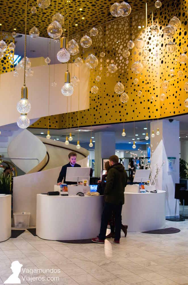 Recepción del Hotel C Stockholm