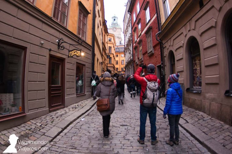 Tour gratuito en español por Gamlsa Stan, Estocolmo