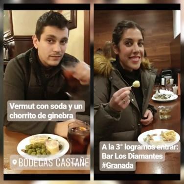 Tapeando en los bares de Granada