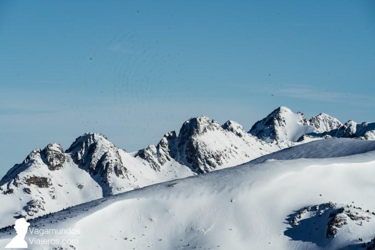 Esquiando en Grandvalira, Andorra