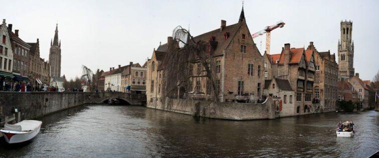 El muelle del Rosario: el lugar más fotografiado de Brujas