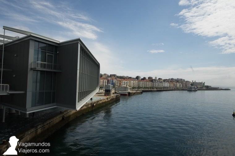 El Centro Botín, situado en la bahía de Santander